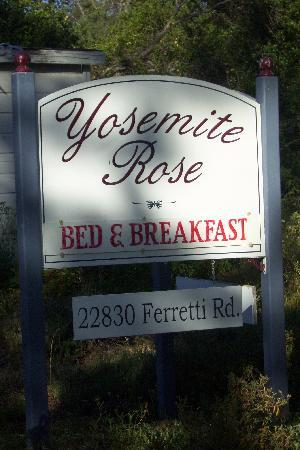 Yosemite Rose Bed & Breakfast: Yosemite Rose