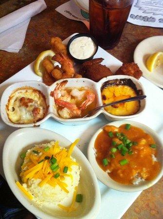 DON'S Seafood: Shrimp Dinner