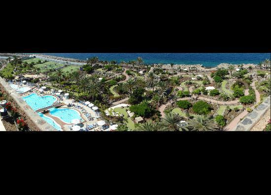 Club Gran Anfi: Blick auf Pool-Landschaft und Minigolf-Park am GRAN ANFI
