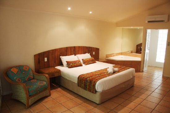 Eco Village Resort Mission Beach : Deluxe Spa room