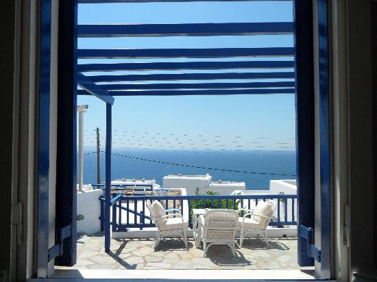 Ξενοδοχείο Spanelis: view from the room