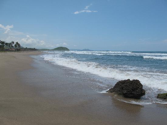 Casa Ki: La playa limpia.