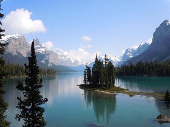 Jasper, Canada: spirit island