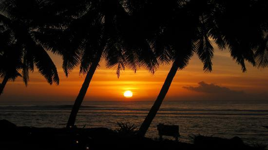 Rarotonga, Cook Islands: Sunset
