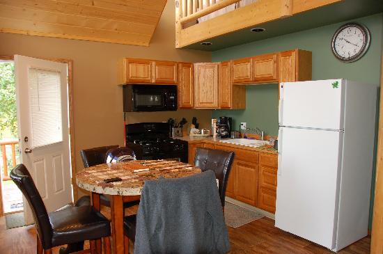 Stillwaters Chalets: Your own kitchen