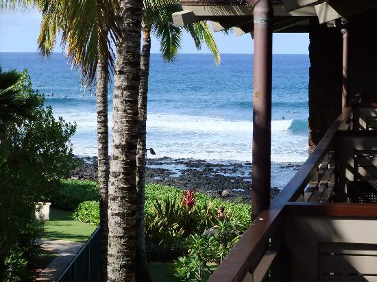 Koa Kea Hotel & Resort: The View From Our Balcony