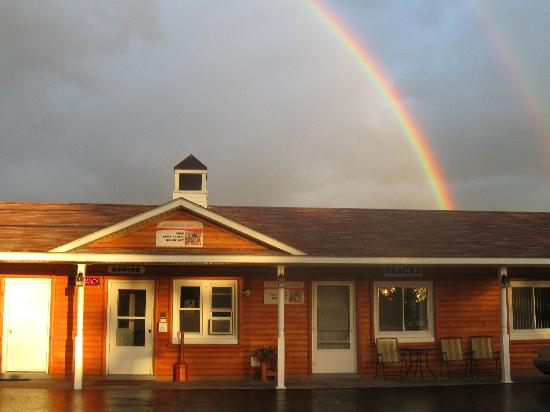 Northwoods Lodging: At the end of the rainbow
