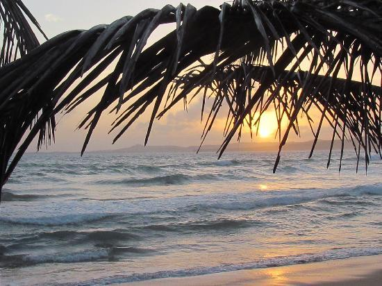 Luquillo Sunrise Beach Inn: what a wonderful way to wake up