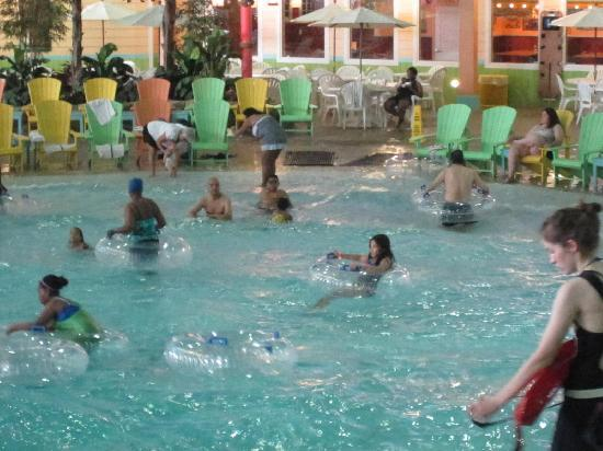 KeyLime Cove Indoor Waterpark Resort: mom's favorite part - the lazy river