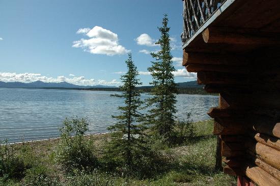 Iniakuk Lake Wilderness Lodge: View from the executive cabin