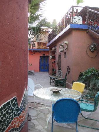 La Posada del Rio Sonora: Courtyard
