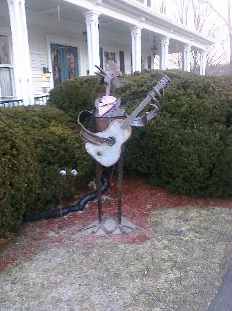 Second Street Bed & Breakfast: Just one example of the very cool things you will find at Second Street!