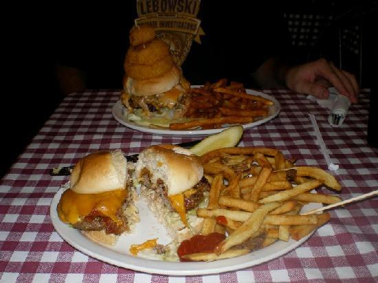 Durty Gurt's: Our massive and delicious burgers!