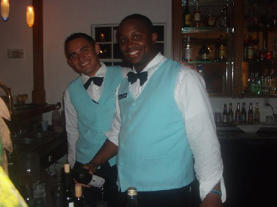 Turquoise Bay Dive & Beach Resort: part of the staff
