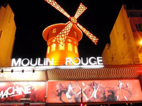 Moulin Rouge: 赤い風車