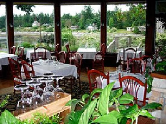 """eat"" at Galiano Inn"