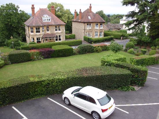 The Cotford Hotel and l'Amuse Bouche Restaurant: view from one of our windows