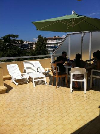 Le Massena Residence Cannes: La terrasse