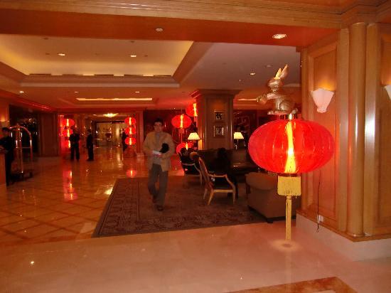 Ambassador Hotel Taipei: ホテルのロビー
