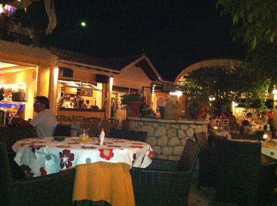 Nereids Restaurant & Bar: View in main restaurant