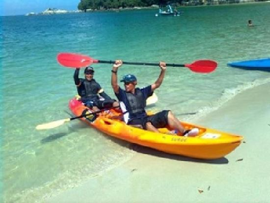‪‪Nipah Bay Villa‬: Watersports - Canoeing‬