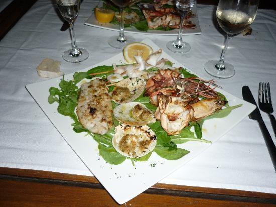 DaVinci Restaurant: grigliata