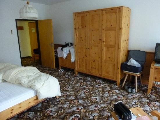 Hotel Post: Das Schlafzimmer