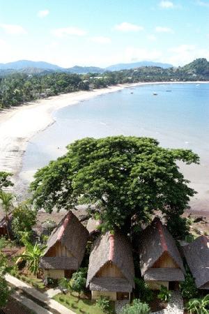 Madirokely, Madagascar: La vue sur la baie