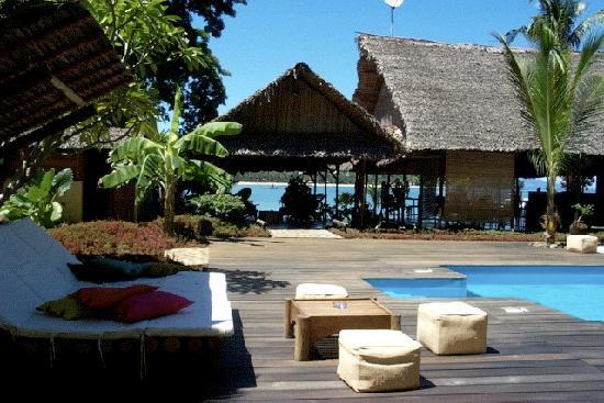 Madirokely, Madagascar: La piscine d'eau douce