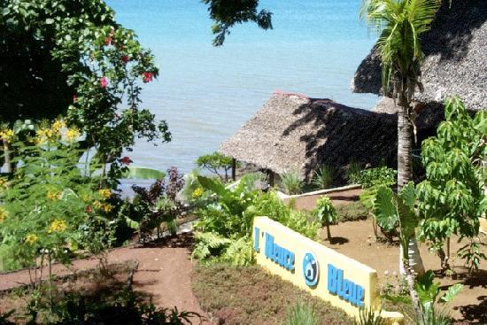 Madirokely, Madagascar: L'entrée de l'Heure bleue.