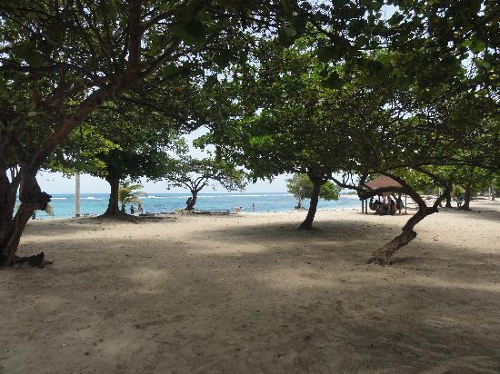Saint-François, Guadeloupe: plage