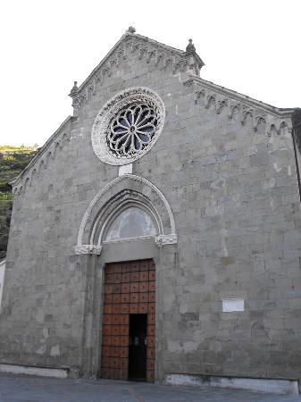 Chiesa di San Lorenzo: San Lorenzo a Manarola
