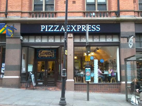 Worst Pizza Ever Pizza Express Nottingham Traveller