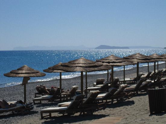Avra Imperial Hotel: Playa del hotel