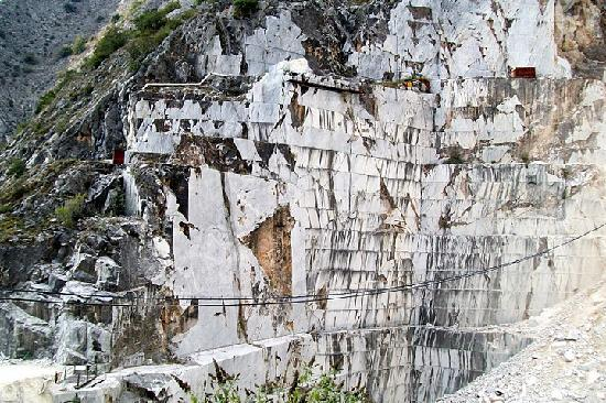 Marble Caves of Carrara