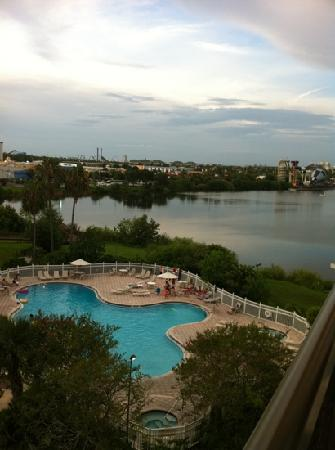 The Enclave Hotel & Suites: the view from our room