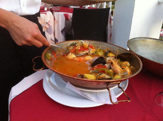 restaurante  A BROA : Mixed fish Cataplana
