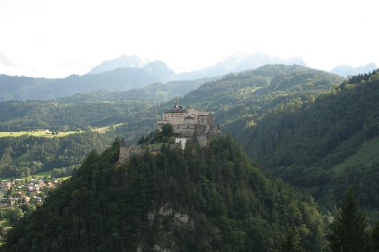 Eisriesenwelt: Werfen fortress, from the road to the cave