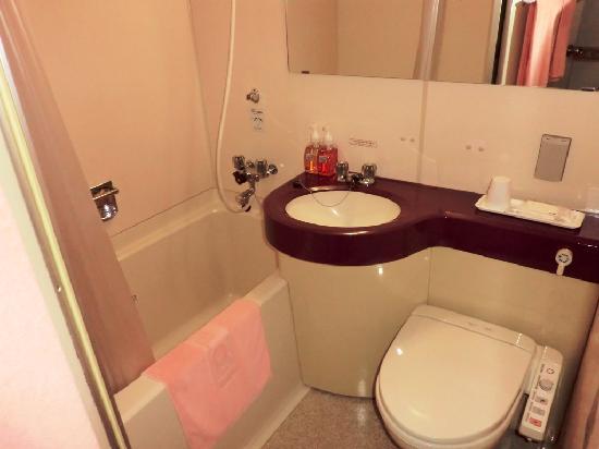 Hotel Alpha-1 Hofu: 浴室