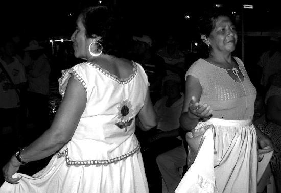 Catemaco, Meksyk: Mujeres bailadoras en fandango