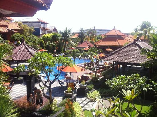 Kuta Beach Club Hotel: View from balcony