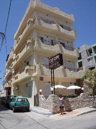 Ideon Hotel : kleines nettes Hotel- das Ideon in Chania