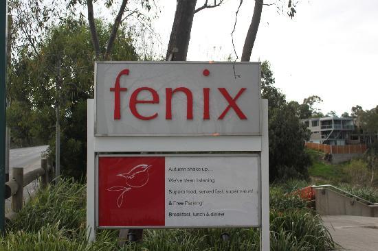 Fenix Restaurant & Events: Fenix Sign