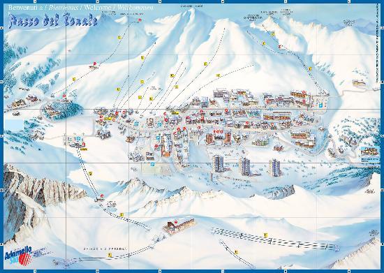 Grand Hotel Miramonti: cartina Passo del Tonale