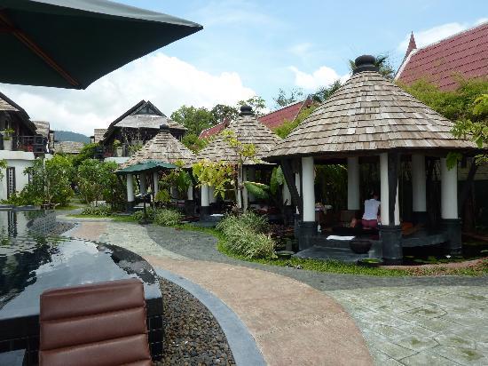 Kirikayan Boutique Resort: Massagepavillons