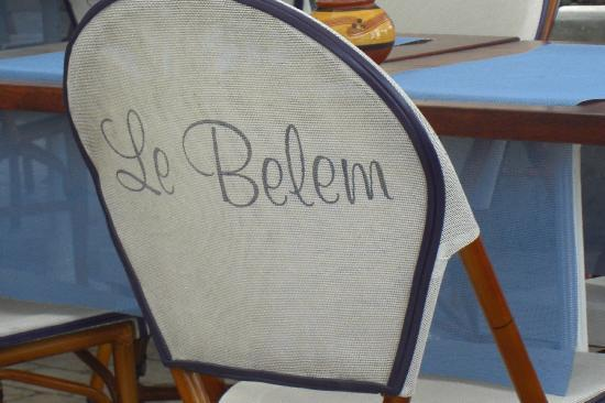 Le Belem: took a photo to remember its name