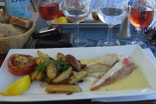 Le Belem: simple but delicious lunch