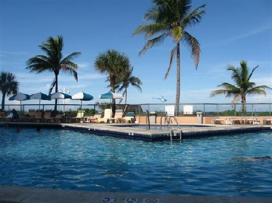 Hollywood Beach Resort Cruise Port Hotel: piscine