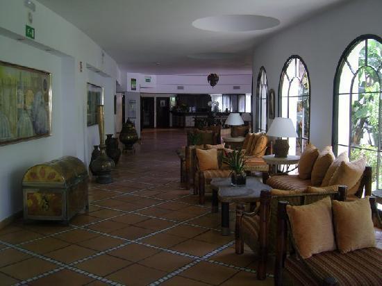 Seaside Sandy Beach : le hall de l'hôtel
