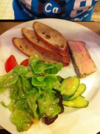 Benjamin : foie gras